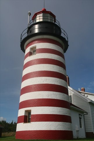 Lighthouse at Quoddy State Park, ME