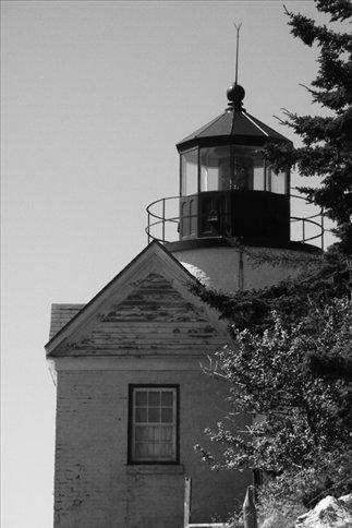 Coast guard lighthouse, Acadia NP, ME