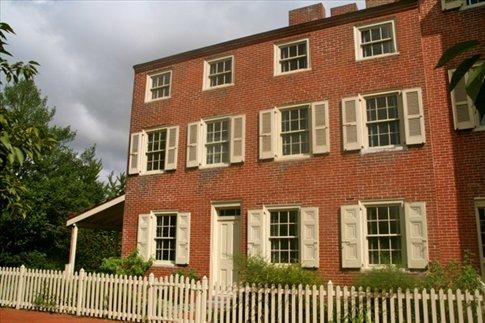 Poe's Philadelphia home