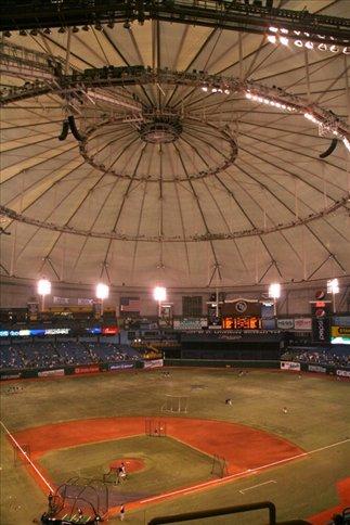 Tampa Rays v. Yankees, Tropicana Stadium