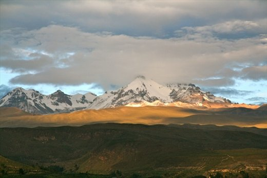 Andes morning, Yanque