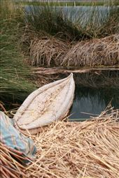 Reed boat, Floating island of Uros: by fieldnotes, Views[229]