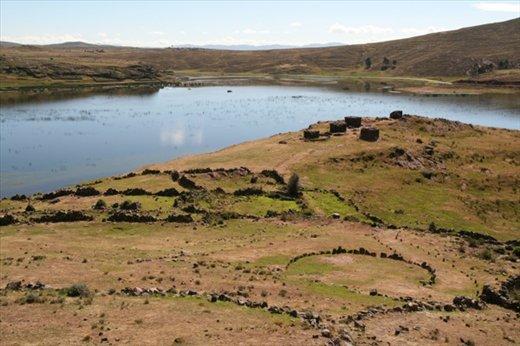 Lake Umayo from Sillustani