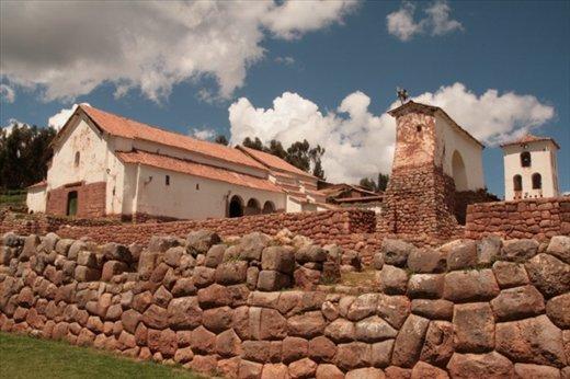 Chinchero church on Inca walls