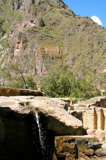 Fountain, Ollantaytabo