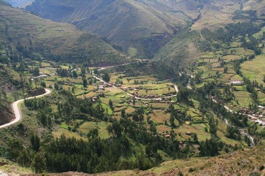 View from the top, Pisac