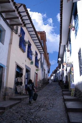 Nuestra calle (Our street) San Blas, Cusco