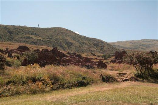 Pre-Inca site at Piquillacta
