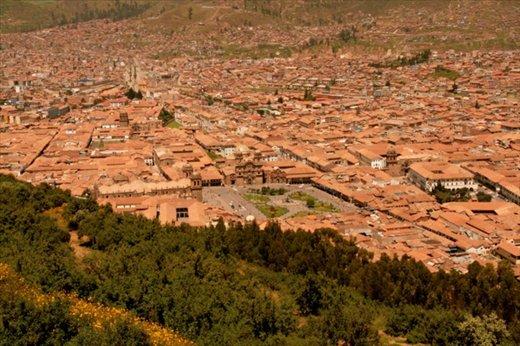 Cusco from Saqsaywaman