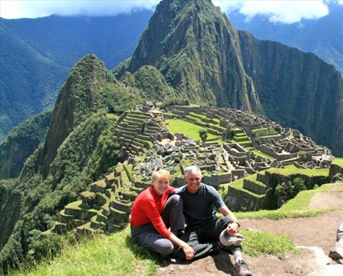 John and Connie at Machu Picchu