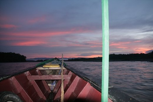 Sunrise on Madre de Dios
