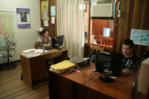 Jaime and Marita, IBC offices