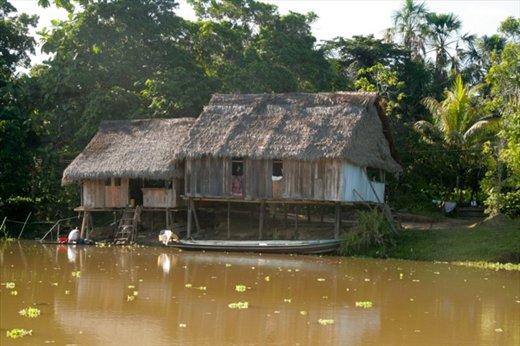 Amazon home near Muyuna Lodge
