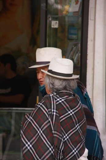 Cuenca, home of the Panama hat