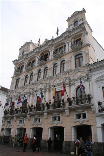 Grand plaza, Quito