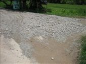 driveway washed onto the road: by fimc, Views[313]