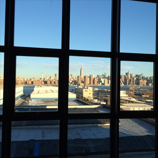 From the hotel room of the Whyte Hotel in Williamsburgh