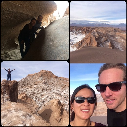 Best excursion in San Pedro de Atacama by far! Amazing scenery after amazing scenery in the Moon Valley.