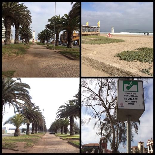 La ville de La Serena, jolie ville au bord de la mer. Petit arrêt entre San Pedro de Atacama et Santiago/Valparaiso.