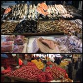 Santiago de Chile: great seafood and fresh fish and fruit/vegetables: by finally, Views[213]