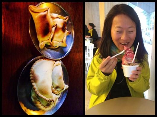 Meilleurs empanadas de BA et meilleure glace de BA!!! ;-) trop bon!!!