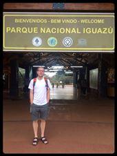 Quasi premiers au site des chutes d'Iguazu du côté argentin, au taquet! ;-) hihi: by finally, Views[154]