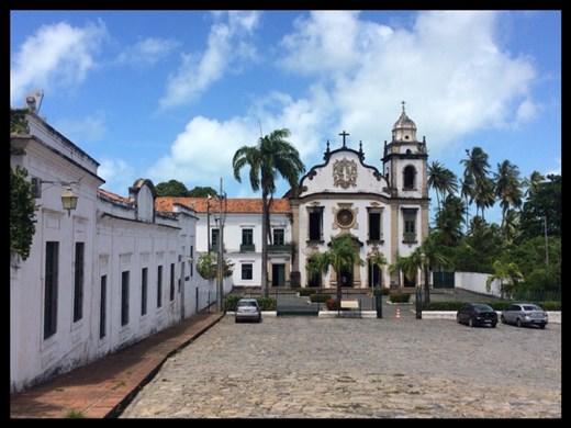 Olinda has a lot of churches like Salvador