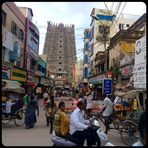 Où est Charlie? .... Temple à Madurai