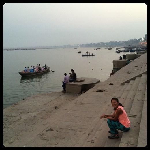 Steps of the Ganges in Varanasi