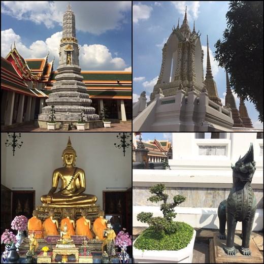 Le cadre verdoyant renforce l'impression de sérénité qui se dégage du Wat Pho.