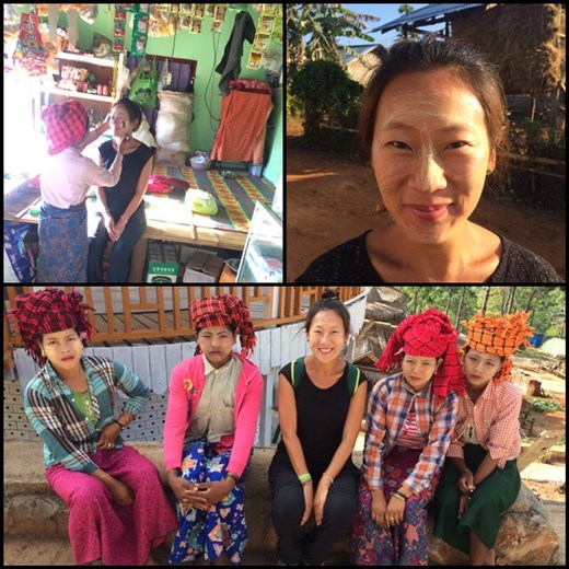 Thanaka, best eco-friendly cosmetic, it's made from trees. All Myanmar children and women wear this on their face.  http://www.mymagicalmyanmar.com/coverstory/thanaka-myanmars-fragrant-versatilecosmetic/