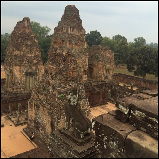 Another Khmer temple.