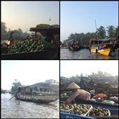Les marchés flottant commencent dès l'aube du coup on était sur l'eau à 5h du matin deux jours de suite car nous en avons visité plusieurs à différents endroits du delta. : by finally, Views[143]