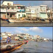 Autre marché flottant le deuxième jour passé dans le delta du Mékong. : by finally, Views[270]