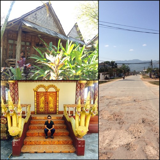 Quiet town of Muang Sing located at 10 km from the Chinese border.