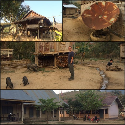 Overview of the small village we were staying at. Did they get HBO?!? ;-) lol