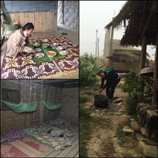 Life at our very basic homestay. Great experience!