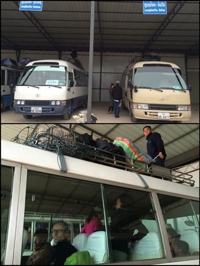 Mini bus to Oudomxai.