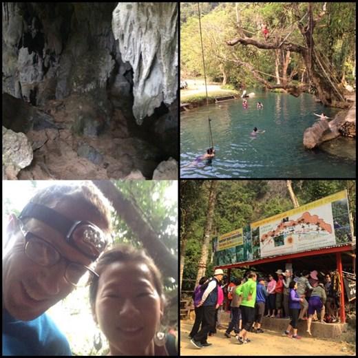Le Blue Lagoon envahi par les coréens fans de leur série de télé réalité coréenne filmée là. Exploration d'une des grottes de la région.