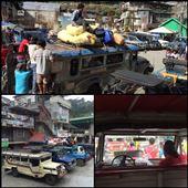 En attente d'autres passagers dans le jeepney allant à Sagada. Ils partent une fois que le véhicule est plein, du coup après 2h30 d'attente nous sommes enfin partis. Il n'y a pas d'horaire fixe, la notion du temps est totalement différente de chez nous ici. : by finally, Views[163]