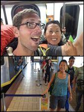 De retour à Manille. Comme à Mexico City, il y a une section réservée au femmes dans le métro. : by finally, Views[139]