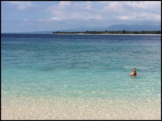 R & R on Gili Meno island near Lombok and Bali