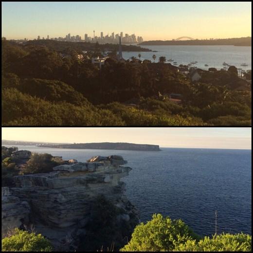 Sydney est une ville très verte avec des coins sauvages, on se croirait en pleine nature parfois; c'est vraiment sympa!