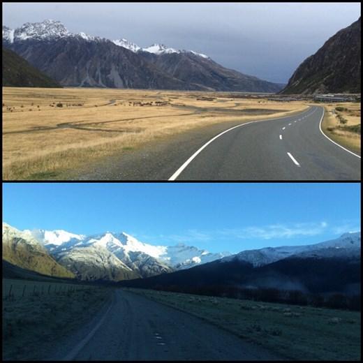 Voilà le genre de routes que nous avions quasi tous les jours, quel régal pour les yeux!