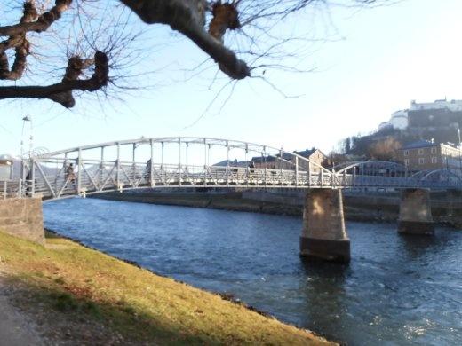 Mozart footbridge...also in Sound of Music.