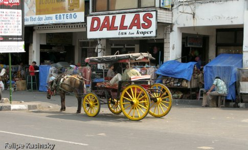 One of the many rides of Djogja