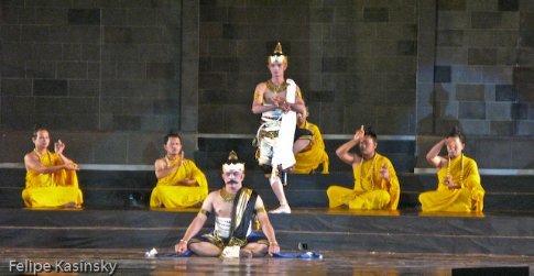 Ramayana by Borobodur