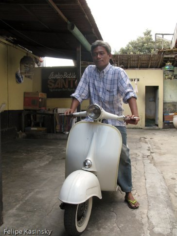 The Ride (Vespa) and the Driver