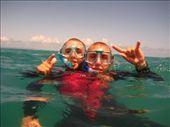 Snorkeler with two heads: by fkasinsky, Views[261]