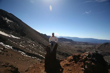 Tongariro Crossing - Come sit next to me